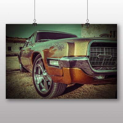 Big Box Art Vintage Classic Car No.14 Graphic Art