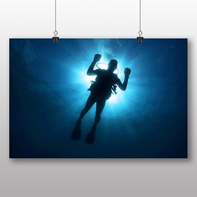 Big Box Art Scuba Diving No.3 Photographic Print on Canvas
