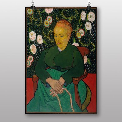 Big Box Art Seated Woman by Vincent Van Gogh Art Print