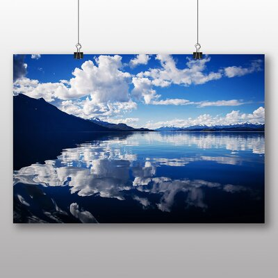Big Box Art Sky Clouds No.6 Photographic Print Wrapped on Canvas