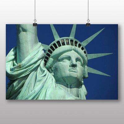 Big Box Art Statue of Liberty New York USA No.3 Photographic Print