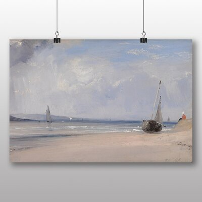 Big Box Art 'The Boats' by Richard Bonington Art Print