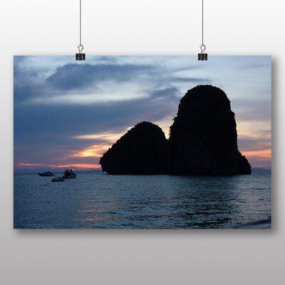 Big Box Art Railey Beach Thailand Photographic Print on Canvas
