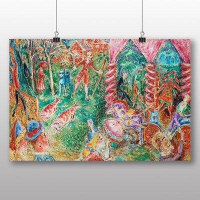 Big Box Art 'The Tourist' by Nils von Dardel Art Print