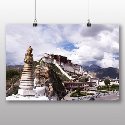 Big Box Art Potala Palace Llasa Tibet No.2 Photographic Print Wrapped on Canvas