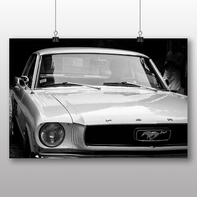 Big Box Art Vintage Classic Car No.15 Photographic Print Wrapped on Canvas