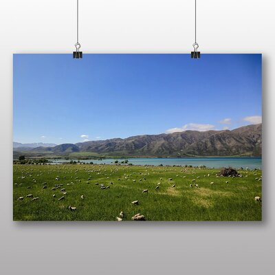 Big Box Art Sheep in New Zealand Photographic Print on Canvas