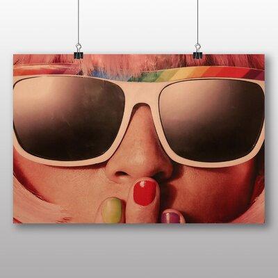 Big Box Art Rainbow Girl Photographic Print Wrapped on Canvas