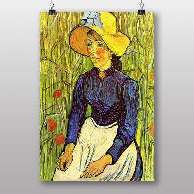 "Big Box Art ""Young Girl"" by Vincent Van Gogh Art Print"