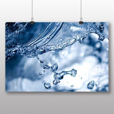 Big Box Art Splash of Water No.3 Graphic Art on Canvas