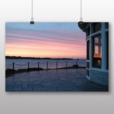 Big Box Art Rhode Island Sunset USA Photographic Print