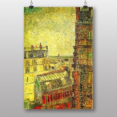 """Big Box Art """"View of Paris"""" by Vincent Van Gogh Art Print"""