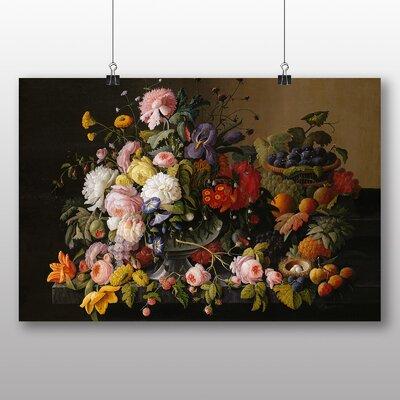 Big Box Art 'Still Life Flowers' by Severin Roesen Art Print