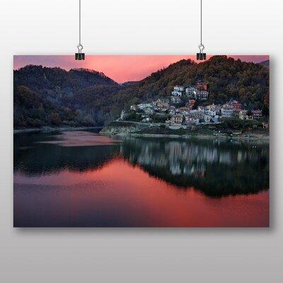Big Box Art Rieti Italy Photographic Print