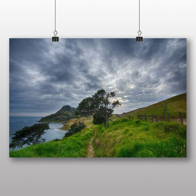 Big Box Art Sheep in New Zealand No.2 Photographic Print Wrapped on Canvas