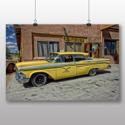 Big Box Art Vintage Classic Car No.13 Photographic Print on Canvas