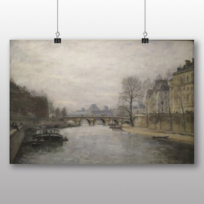 Big Box Art 'The Pont Neuf Paris' by Stanislas Lepine Art Print