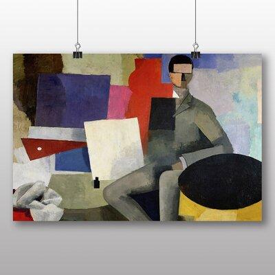 Big Box Art 'The Sitting Man' by Roger de la Fresnaye Art Print
