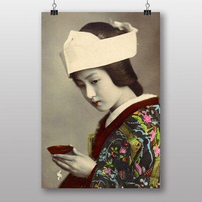 Big Box Art Oriental Japanese Geisha Girl No.5 Photographic Print