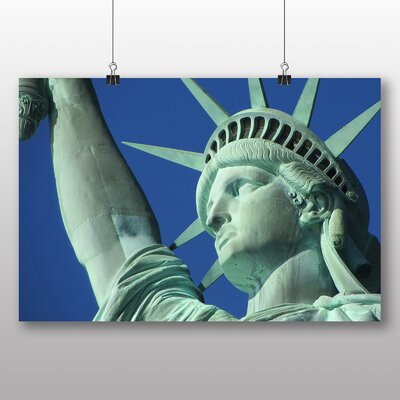 Big Box Art Statue of Liberty New York USA No.6 Photographic Print Wrapped on Canvas