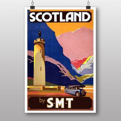 Big Box Art Scotland Vintage Advertisement