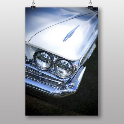 Big Box Art Vintage Classic Car No.18 Photographic Print Wrapped on Canvas