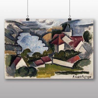 Big Box Art 'French Landscape' by Roger de la Fresnaye Art Print