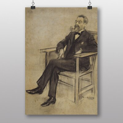 Big Box Art Eusebi Corominas by Ramon Casas i Carbo Art Print