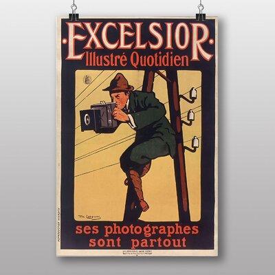 Big Box Art Excelsior Affiche Vintage Advertisement
