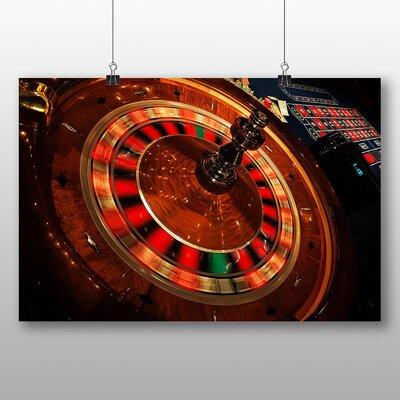 Big Box Art Roulette Table Casino Photographic Print