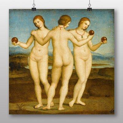 Big Box Art 'Three Graces' by Rembrandt Art Print