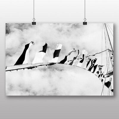 Big Box Art 'Sailing Boat Flags' Photographic Print