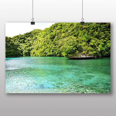 Big Box Art Palau Beach No.3 Photographic Print on Canvas