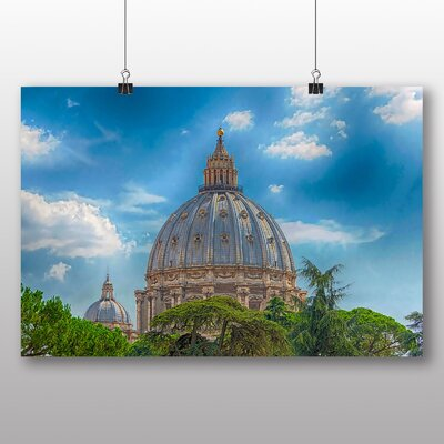 Big Box Art Saint Peters Basilica Rome Italy Photographic Print