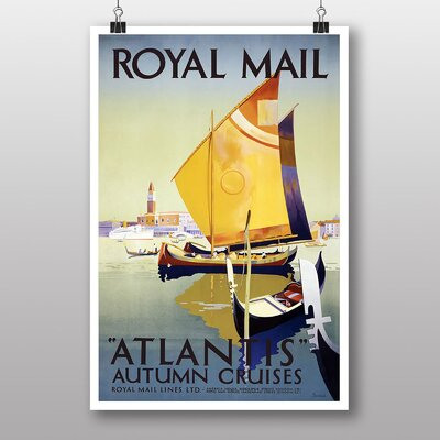 Big Box Art Atlantis Vintage Advertisement