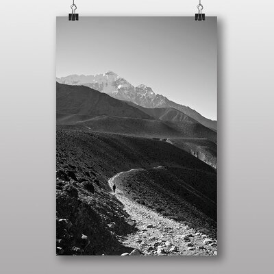 Big Box Art Path in Nepal Photographic Print Wrapped on Canvas
