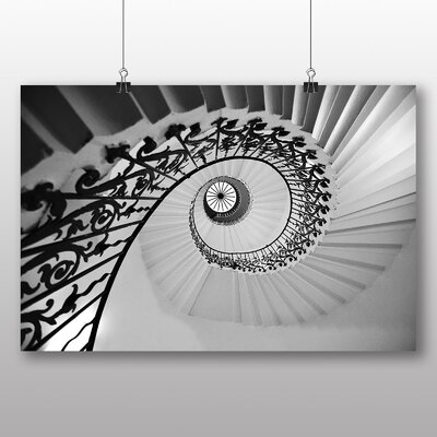 Big Box Art Stairwell Architecture No.1 Graphic Art on Canvas