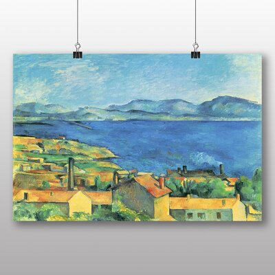 Big Box Art 'Landscape No.5' by Paul Cezanne Art Print
