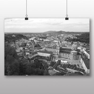 Big Box Art Salzburg Austria Photographic Print Wrapped on Canvas