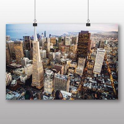 Big Box Art San Francisco Skyline California USA Photographic Print