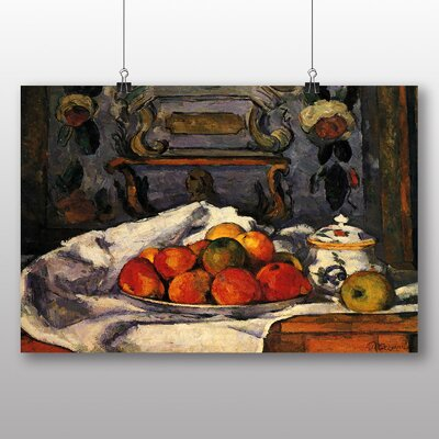 Big Box Art 'Still Life No.3' by Paul Cezanne Art Print