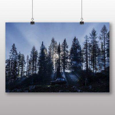 Big Box Art Sunlight Through Trees Photographic Print
