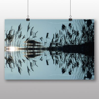 Big Box Art Reed Pond Graphic Art on Canvas