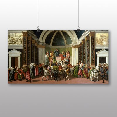 Big Box Art 'The Story of Virginia' by Sandro Botticelli Art Print