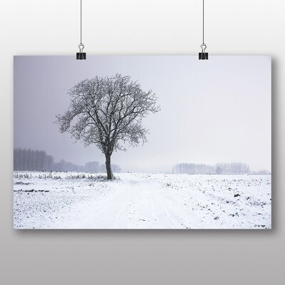 Big Box Art 'Snow and Trees No.2' Photographic Print