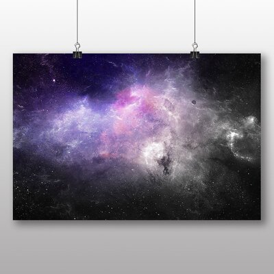 Big Box Art Space Planets No.5 Graphic Art on Canvas
