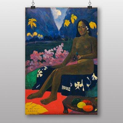 Big Box Art Seated Woman by Paul Gauguin Art Print