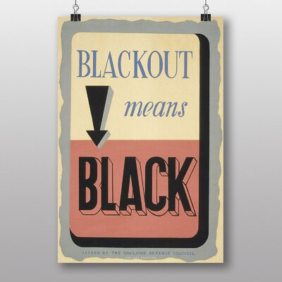 Big Box Art Blackout Typography