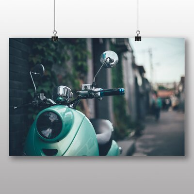 Big Box Art Scooter Italy Street Photographic Print