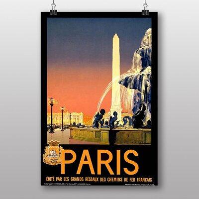 Big Box Art Paris No.1 Vintage Advertisement